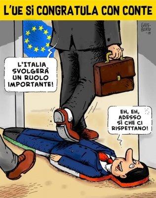 La normalizzazione eurocratica dell'Italia