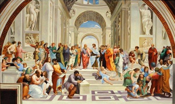 L'autentico significato della Scuola di Atene di Raffaello