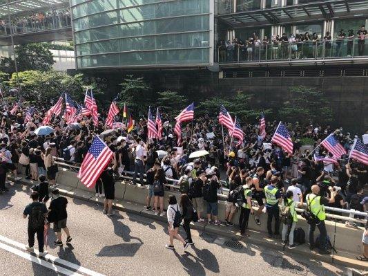 Hong Kong ha paura: dei manifestanti