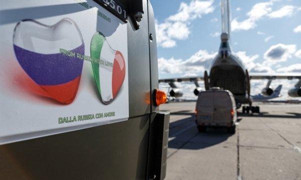 La disinformazione all'opera: gli attivisti collegati ad un think tank della NATO denigrano gli aiuti russi all'Italia per il Covid-19