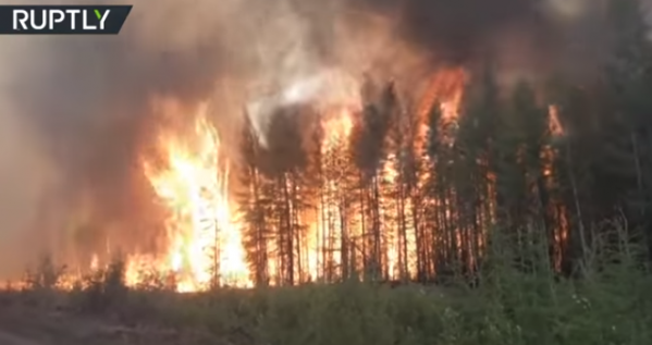 Gli incendi devastanti in Alaska e Siberia