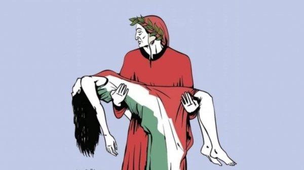L'Italia è una nazione letteraria e Dante è il suo fondatore