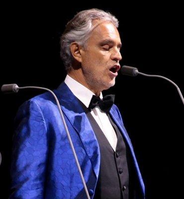 Andrea Bocelli: «ipervedente»