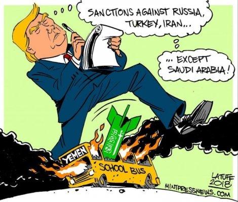 Gli Stati Uniti dettano la linea sulle sanzioni e le condizioni economiche