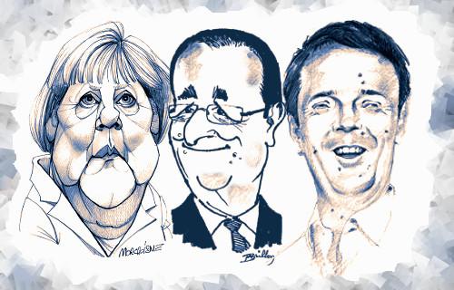 Tentativi (disperati) di triumvirato
