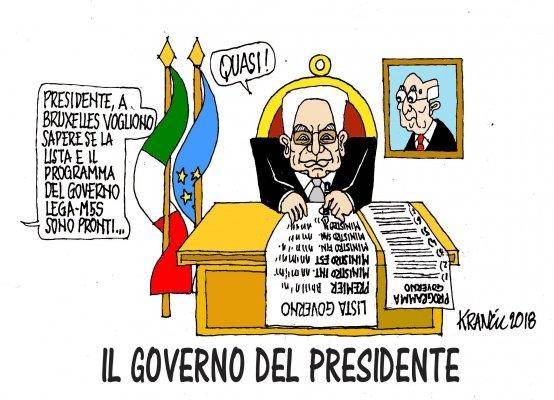 Voto disobbediente e bullismo presidenziale