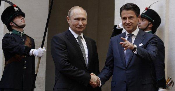 Putin e l'insostenibile leggerezza dell'Italia
