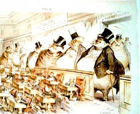 Il governo dell'Alta Finanza e gli elettori coglionati
