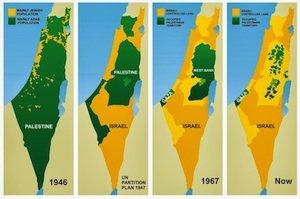 """Il colonialismo """"vivente"""" di Israele che nessuno contesta"""