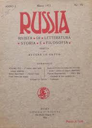 Far conoscere la cultura russa agli italiani dunque all'Europa del vero dell'Occidente