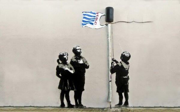 Banksy al supermarket