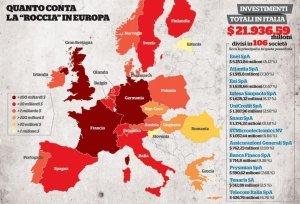 BlackRock, quel potere occulto che domina tutta la finanza europea