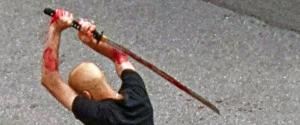 Macellato con la spada dal profugo: e i media, zitti