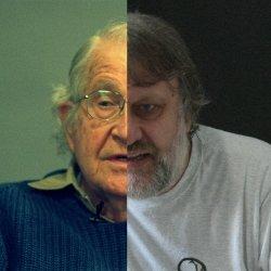 Zizek e Chomsky scaricano l'antifascismo:
