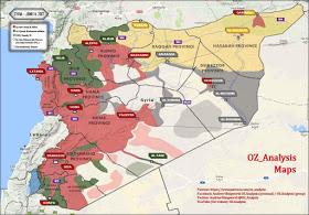 La rimonta dell'esercito siriano