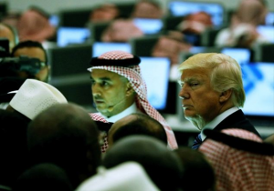 Trump d'Arabia: parole e armi, come Obama