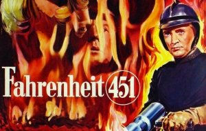 Come in Fahrenheit 451: al rogo i libri