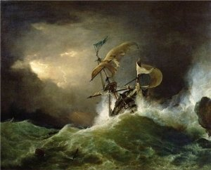 Come nave in tempesta