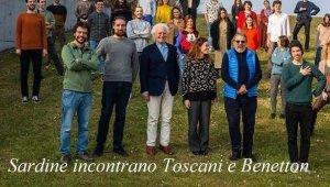 Benetton, le sardine e la foto di famiglia