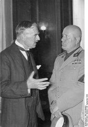 Mussolini nel 1938 voleva la pace, ma Eden no