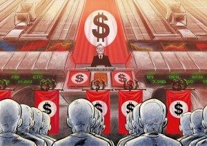 Un sistema totalitario fondato sul dominio della merce e del grande capitale