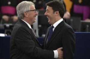 Junker, Renzi e il reddito di cittadinanza