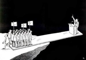 Il popolo ha detto NO al referendum e a Renzi, ma nulla cambia perchè l'opposizione è oggi impossibile