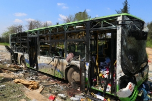 Siria, ecco gli autori dell'attentato contro gli sciiti