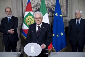 Der Präsident Mattarella