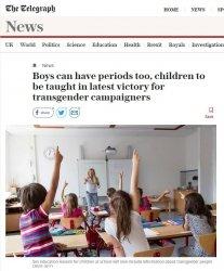 Distopia al potere: tutti i generi possono avere le mestruazioni