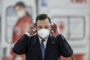 Mario Draghi è sceso in terra a salvarci  prendendoci a casa uno per uno?