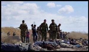 Siria: quei trentamila cadaveri che l'Occidente non riconosce