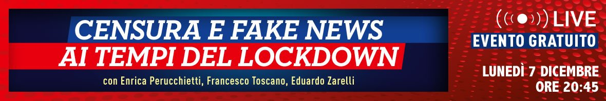Censura e Fake News ai tempi del Lockdown