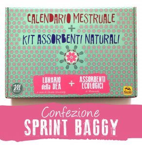 Calendario Mestruale + KIT Assorbenti Naturali - SPRINT BAGGY