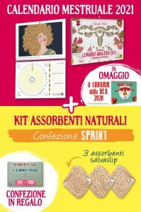 Kit Lunario 2021 + assorbenti Sprint - Libro