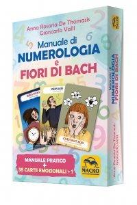 Manuale di Numerologia e Fiori di Bach USATO - Box Carte + Libretto