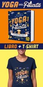 Yoga della Felicità Libro + T-shirt  S - Libro + Maglietta S