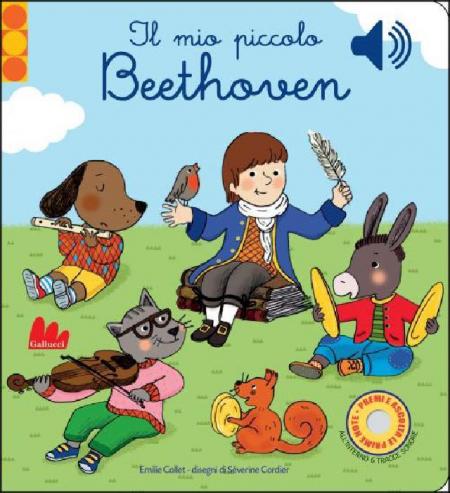 Il Mio Piccolo BEETHOVEN - SONORO - Libro