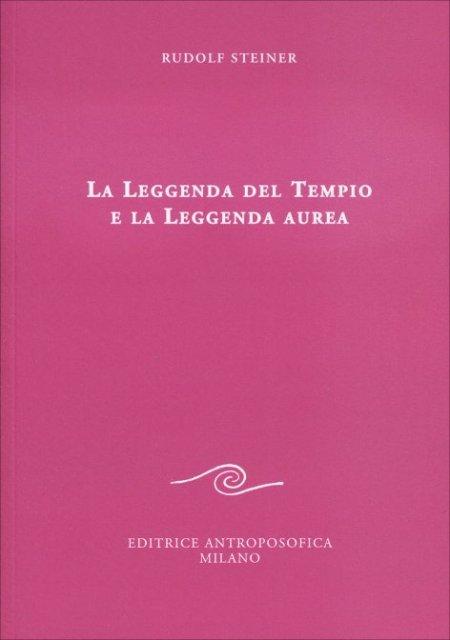 La Leggenda del Tempio e la Leggenda Aurea - Libro