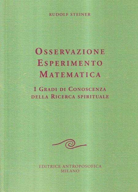 Osservazione Esperimento Matematica - Libro